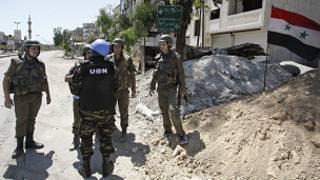 قصف حماة