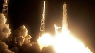 """Ракета """"Фалькон"""" компании SpaceX"""