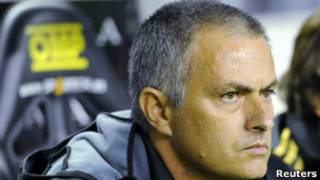 ژوزه مورینیو سرمربی رئال مادرید