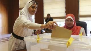 Người Ai Cập bỏ phiếu