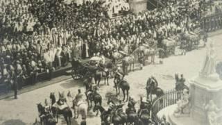 1897年英女王维多利亚登基六十周年庆典