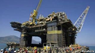 Plataforma de petróleo | Foto: Reuters