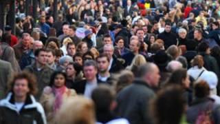 英国街头人群