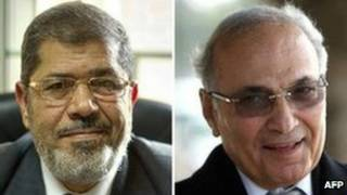 احمد شفیق و محمد مرسی