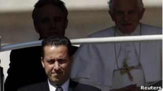 پائولو گابریله، خدمتکار مخصوص پاپ بندیکت