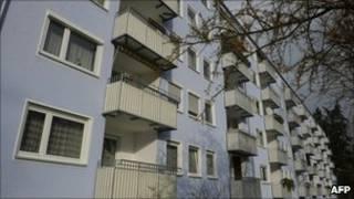 Дом в Ингольштадте, где жил Фабер