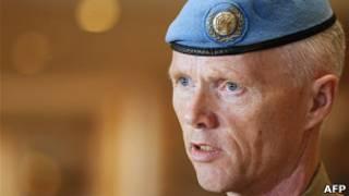 ژنرال رابرت مود، رئیس هیات ناظران سازمان ملل در سوریه