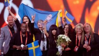 سوئد برنده یورویژن 2012