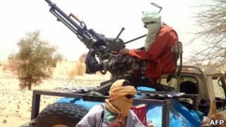 متمردون في شمالي مالي