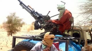 مسلحون من مالي