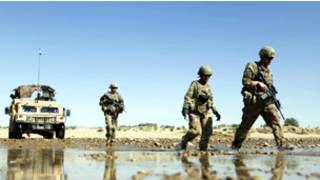 قوات الناتو في افغانستان