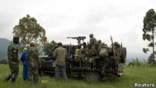 قوات حكومية في الكونغو الديمقراطية
