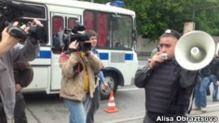 Задержание на Петровке, 38