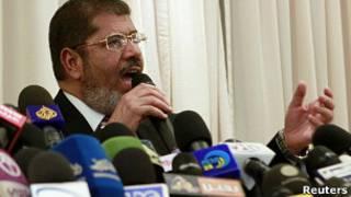 Кандидат в президенты Египта Мохаммед Мурси