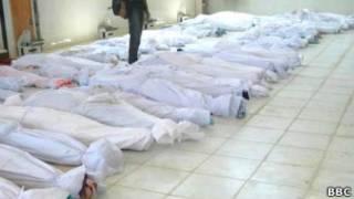 Резня в сирийском городе Хула