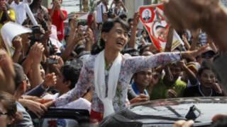 سان سو تشي في تايلاند