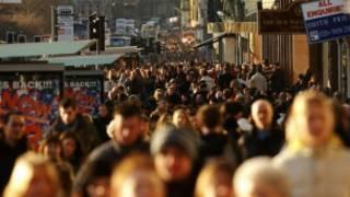 英國街頭人群