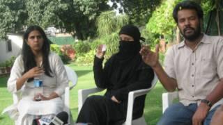 فصیح محمود کے اہلیہ اور سماجی کارکنان