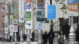 لافتات دعاية في دبلن