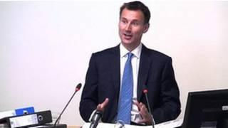 英国文化大臣亨特