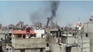 Tashin hankali a kasar Syria