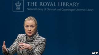 Хиллари Клинтон в Копенгагеге