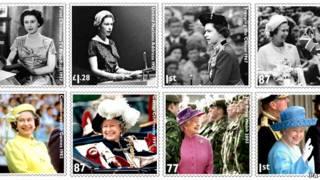英女王紀念郵票