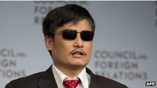 陈光诚的自传计划于2013年秋天面世。
