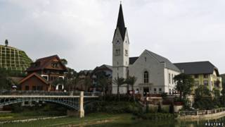 廣東惠州博羅縣的「哈施塔特別墅區」