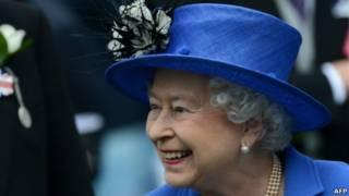 Королева на скачках в Дерби