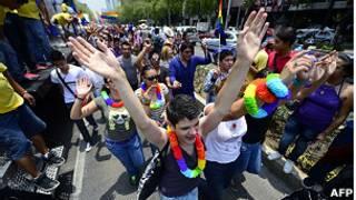 Marcha del orgullo gay en México