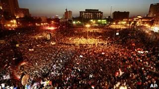 Protesto no Cairo/AP