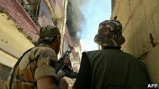 جانب من الاشتباكات التي شهدتها طرابلس