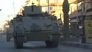 مصفحة للجيش اللبناني