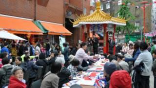 英國女王鑽禧倫敦華埠慶祝