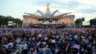 Концерт у королевского дворца