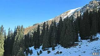 Горы в Казахстане