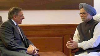 Ông Panetta và Thủ tướng Manmohan Singh