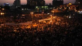 مظاهرة في ميدان التحرير