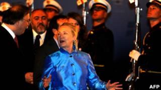 Хиллари Клинтон в Грузии