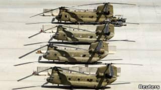 Взлетно-посадочная полоса на авиабазе НАТО под Кандагаром