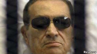 حسنی مبارک، رئیسجمهوری سرنگون شده مصر