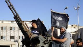 مظاهرة الإسلاميين في بنغازي