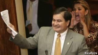 Senador boliviano Roger Pinto. Foto: Reuters