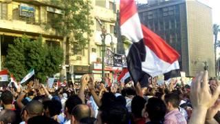 مظاهرة في القاهرة