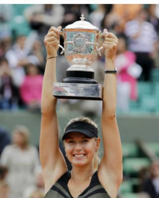ماریا شاراپوا، تنیسباز روس