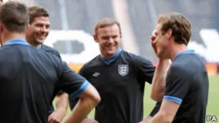 Сборная Англии на Евро-2012