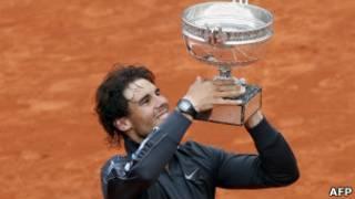 رافائل نادال قهرمان اوپن فرانسه