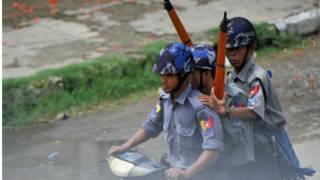 Cảnh sát Miến Điện