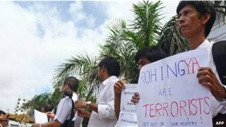 Biề̉u tình phản đối người Hồi giáo
